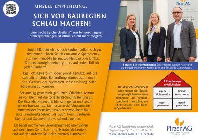 Anzeige-Presseartikel, Baubroschüre, September 2017